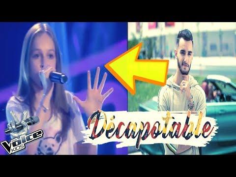 فتاة تبدع في غناء اغنية زهير البهاوي في ذا فويس روسي  The voice zouhair bahaoui decapotable