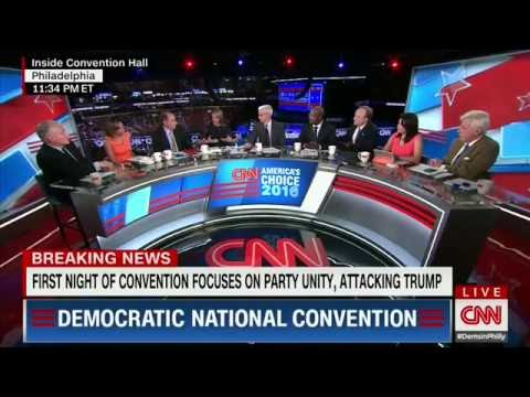 DNC Night One - Sanders endorses Clinton, brings Dems together | 7/25/2014