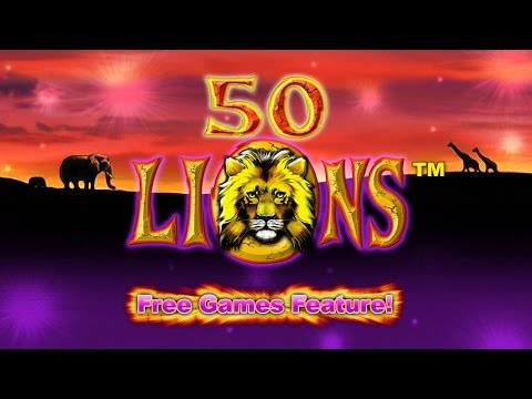 50 Lions - Free Games Feature