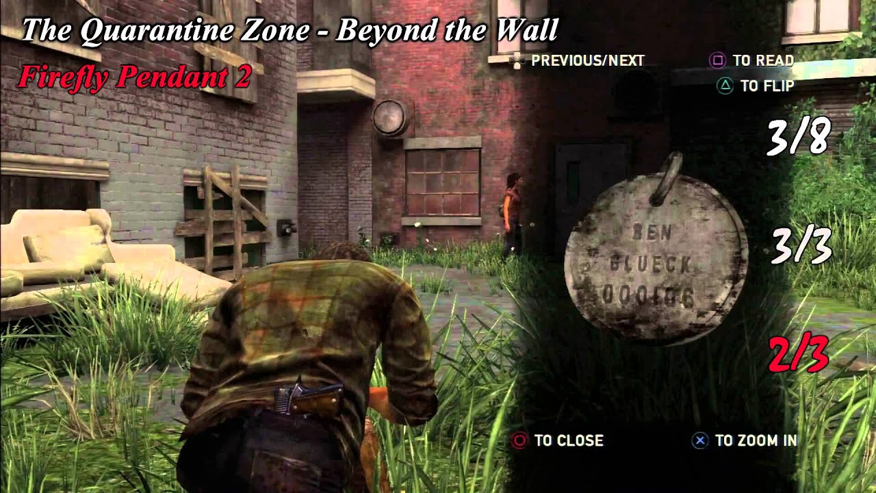 The last of us chapter 2 scavenger guide all collectibles the last of us chapter 2 scavenger guide all collectibles tools shiv doors conversations aloadofball Image collections
