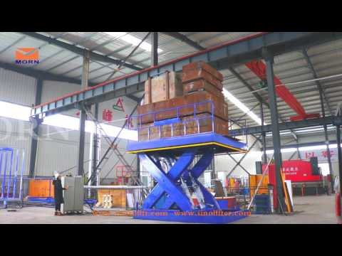 20 ton scissor lift testing video