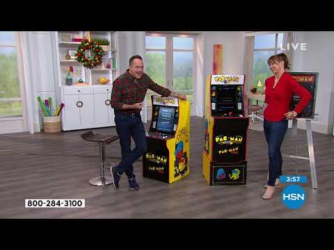 Arcade1Up PacMan   PacMan Plus Arcade Machine With Riser...