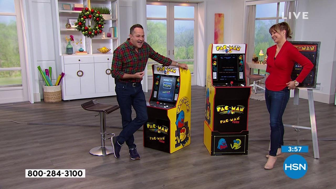 Arcade1Up PacMan PacMan Plus Arcade Machine with Riser