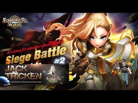 Guild Siege Battle / Batalha de assalto : Summoners War - EP: #02