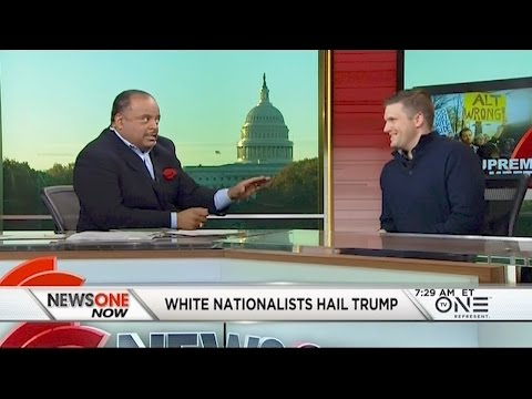 'We're Not Going Anywhere:' Watch Roland Martin Challenge White Nationalist Richard Spencer