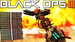 """WTF! """"FIRE STAFF MULTIPLAYER GAMEPLAY"""" in Black Ops 3 (PC MOD)"""