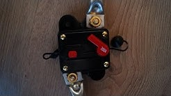 300AMP DC Circuit Breaker and Test