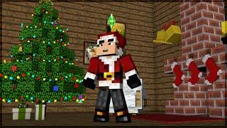 Minecraft The Sims #47: Decoração de Natal da Casa!
