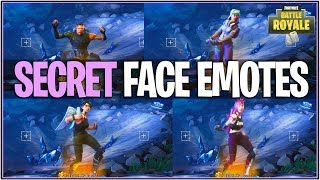 *NEW* Fortnite: FACE EMOTES ADDED WITH SKINS! | (Secret Update)