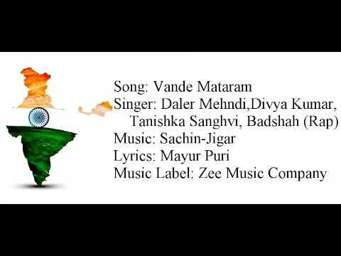"""VANDE MATARAM"" Full Song With Lyrics ▪ Daler Mehndi, Badshah ▪ Sachin-Jigar ▪ ABCD 2"