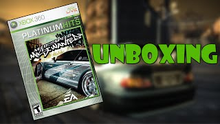 Unboxing Need for Speed Most Wanted 2005 (Xbox 360)