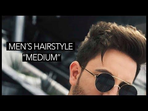 Men's Hairstyle 2018 | Medium Men's hair | JR Style For Men