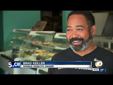 Rob and Hilary - TMSG - Donut shop owner defends homeless man