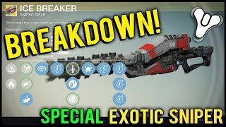 Destiny: Maxed Out Ice Breaker v2.0 Review! | Regenerating Ammo Exotic Sniper Rifle