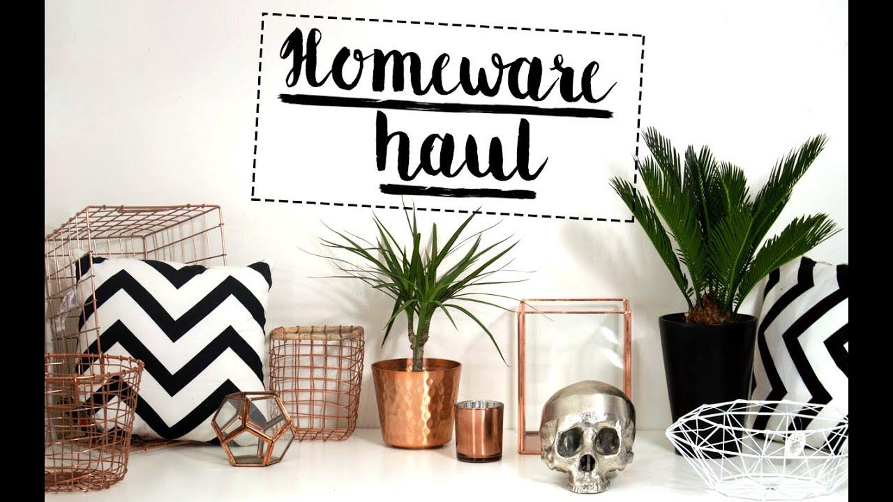 Homeware Haul Anthropologie Primark Tkmaxx Homesense H M Tiger Ikea Itslinamar