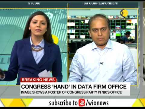 Picture of Congress logo found in Cambridge Analytica's office