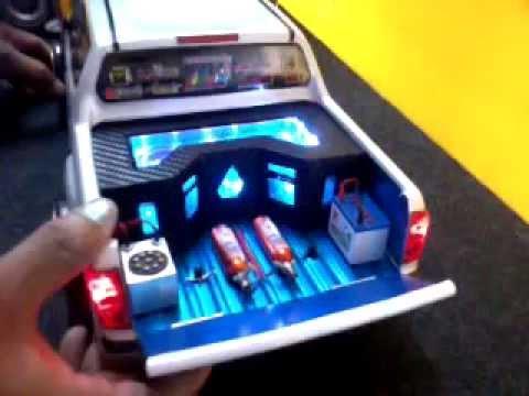 รถบังคับติดเครื่องเสียง ร้านเป้ RC Hatyai Modify 082-4358636 ช่างเป้