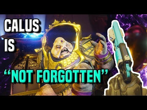 "Calus Is ""Not Forgotten"" 