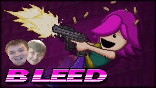 Bleed Video Game Co-op w/ Ethan - Full Game Walkthrough Long Play + ALL BOSSES & ENDING!