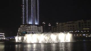 Dubai fountains - very nice arabic song