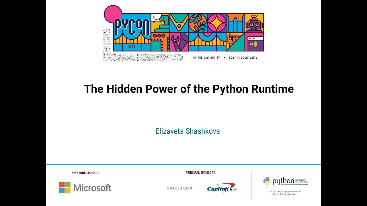 Image from The Hidden Power of the Python Runtime