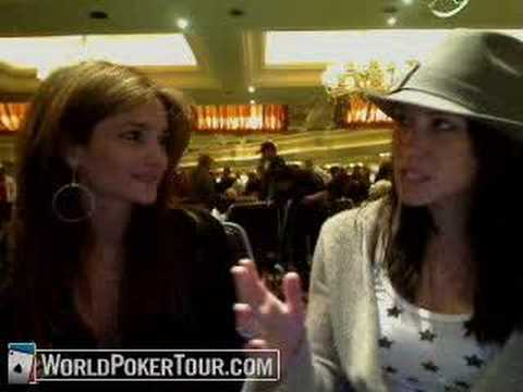 Beth Shak On The Bubble Of Her First WPT Cash