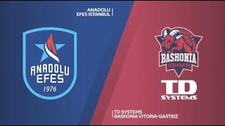 EuroLeague 12. Hafta: Anadolu Efes - TD Systems Baskonia