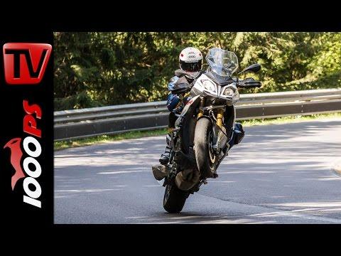BMW S 1000 XR Test 2016 | Motorrad Quartett | Action, Onboard, Details