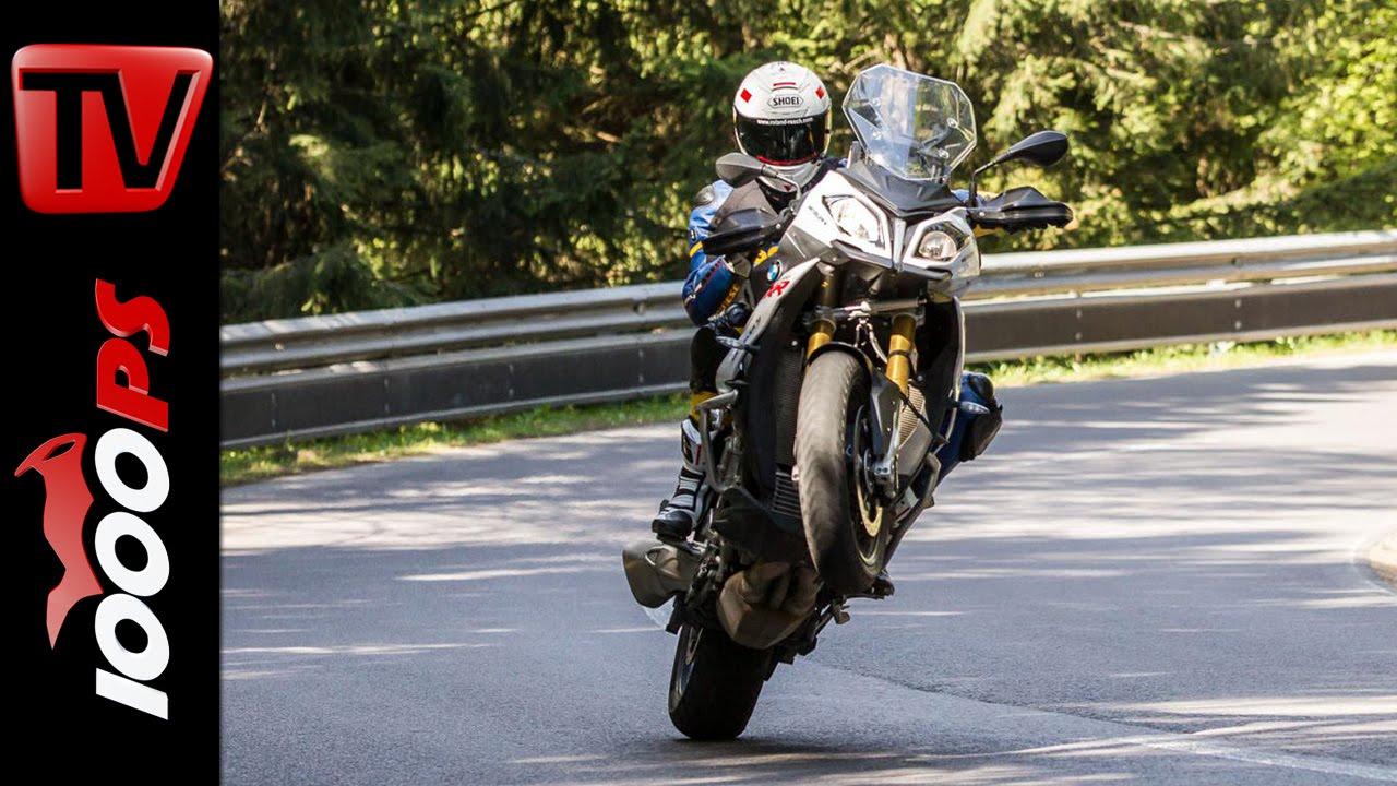 Bmw S 1000 Xr Test 2016 Motorrad Quartett Action Onboard