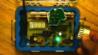 Geiger counter - modified Chaney Electronics C6981 kit