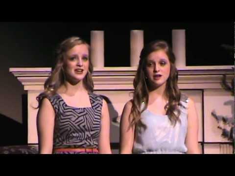 Shelbey & Sydney's 2012 CHS Christmas Gala duet.MPG