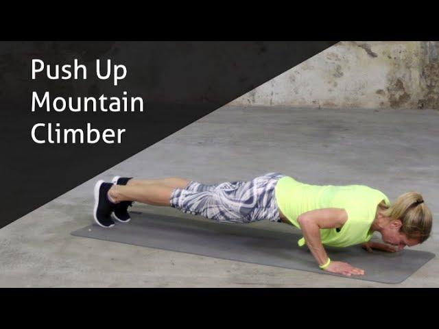 Push Up Mountain Climber - hoe voer ik deze oefening goed uit?