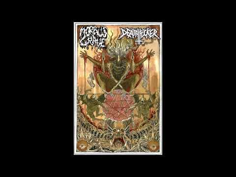 Deathfucker - Defilres in morbid decay (split tape with Morbus Grave)