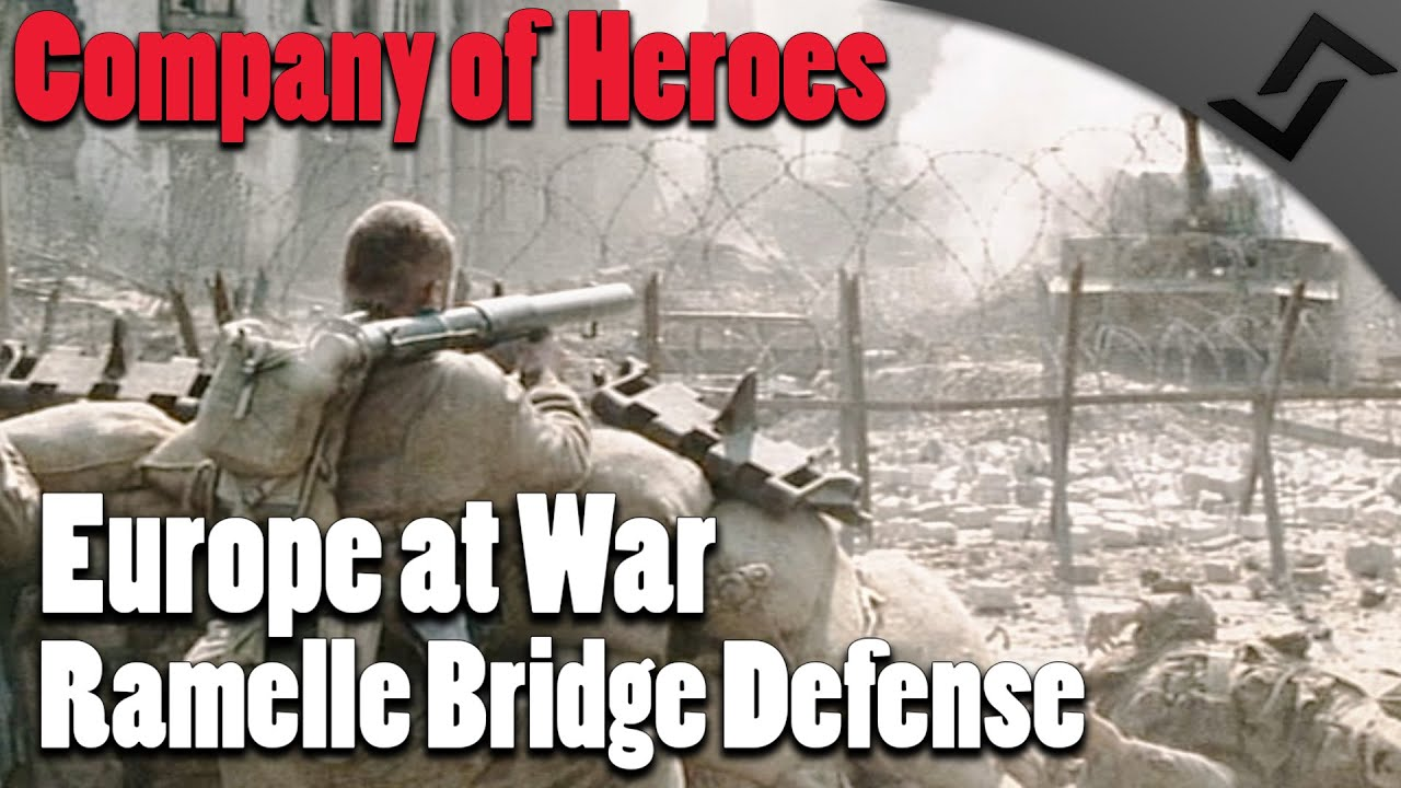 Ramelle France Map.Company Of Heroes Europe At War Ramelle Bridge Defense Saving