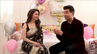 Celebrating Madhuri Dixit Nene birthday Ft. Karan Johar | Bucket List