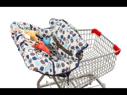 'Delight'  Shopping Cart and High Chair Cover form crocnfrog
