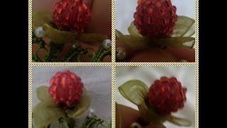 Organze Kurdele oyaları&BÖĞÜRTLEN OYASI&Forex flower,health flower, summer flower ,holiday flower
