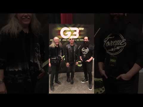 Joe is in Europe for G3!