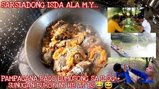 SARSIADONG ISDA ALA M.Y + UPDATE AT GAMES SA BUKID + MAY SUMUBOK NG WAKE BOARDING | Sept 15, 2020