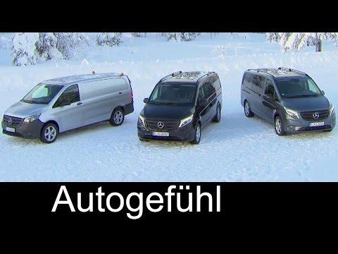 2016 Mercedes Vito Metris 4x4 119 BlueTEC Panel Van, Mixto, & Tourer Pro - exterior interior