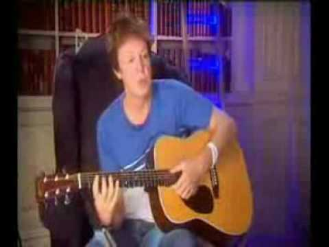 Paul McCartney songwriter 'Shoes'