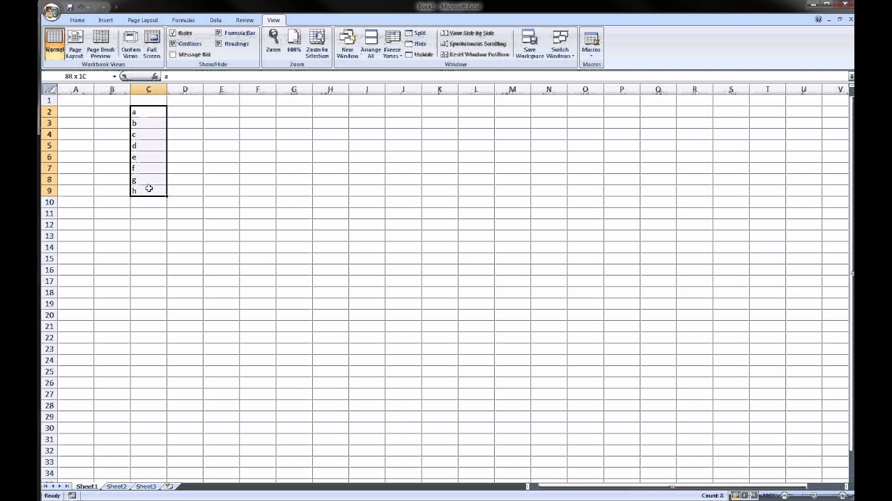 Excel - Macro Introduction (lesson 2)