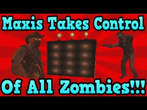 """Black Ops 2 Buried"" END GAME MAXIS EASTER EGG (Maxis Takes Control Of Zombies)"