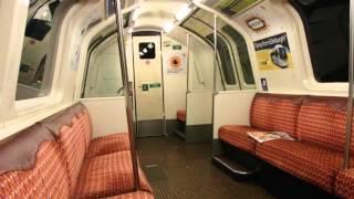 グラスゴー地下鉄車内 Glasgow Subway Train Ride