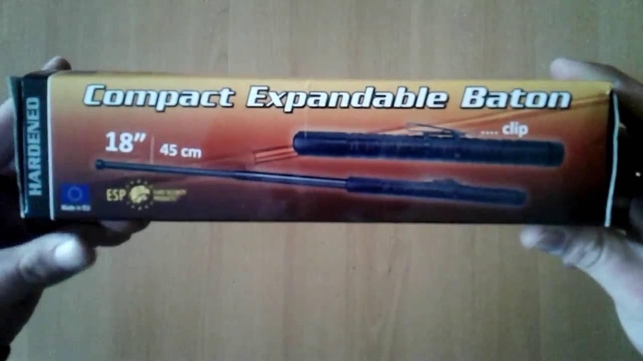 Телескопическая дубинка ESP batton 23 - YouTube