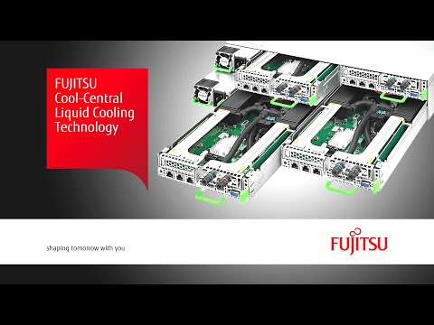 Fujitsu Cool-Central Liquid Cooling Technology for PRIMERGY Scale-Out Servers