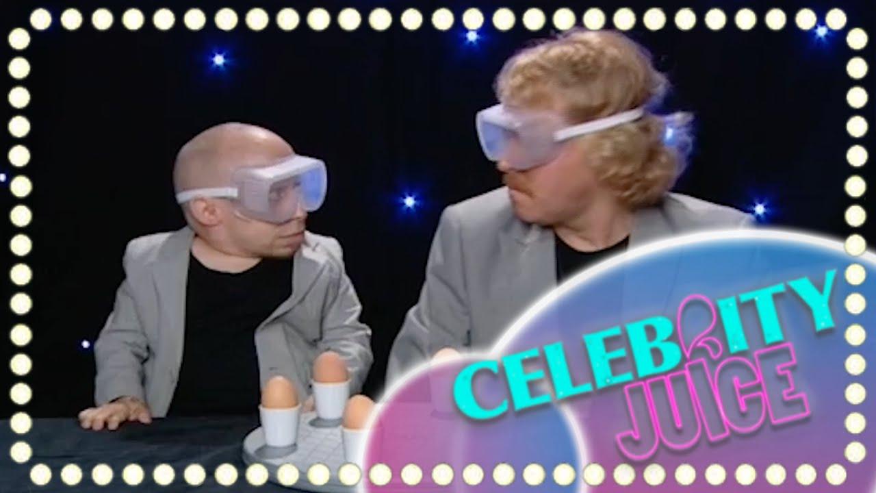 Celebrity juice egg roulette