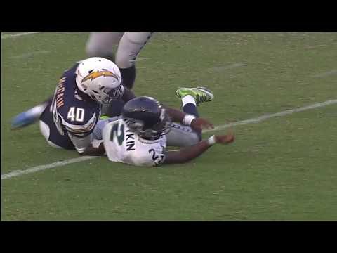 Desmond King catches his first NFL interception!