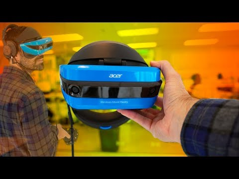 Windows Mixed Reality Hands On & First Impressions!