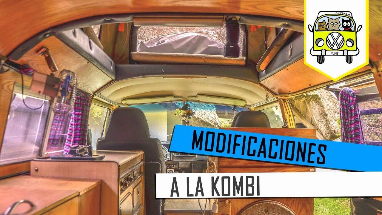 Modificaciones a la kombi   Tips para viajeros - clipzui.com